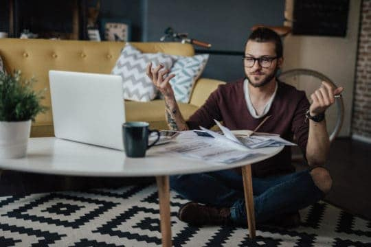 How millennials think about retirement while relaxing at home