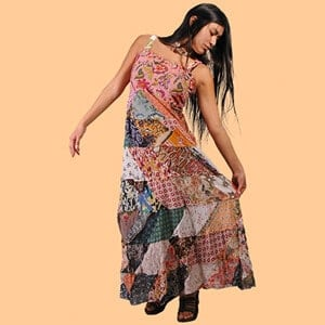 Gypsy Rose Patchwork Dress