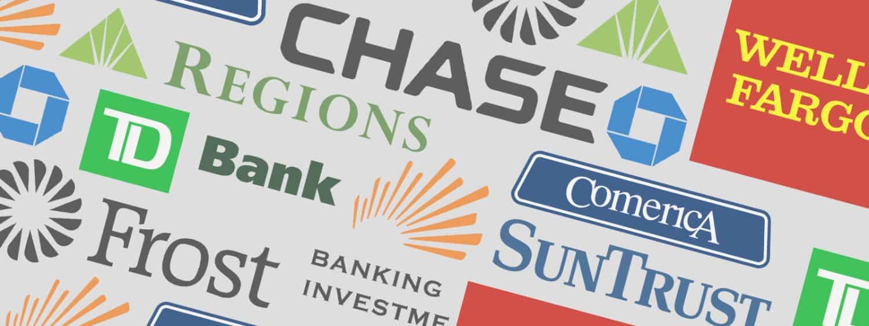 Bank logos