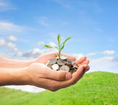 Income puts seed money in your hands that can help you achieve growth