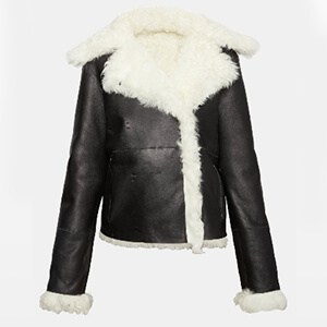 Theory Shearling Peacoat $2_295