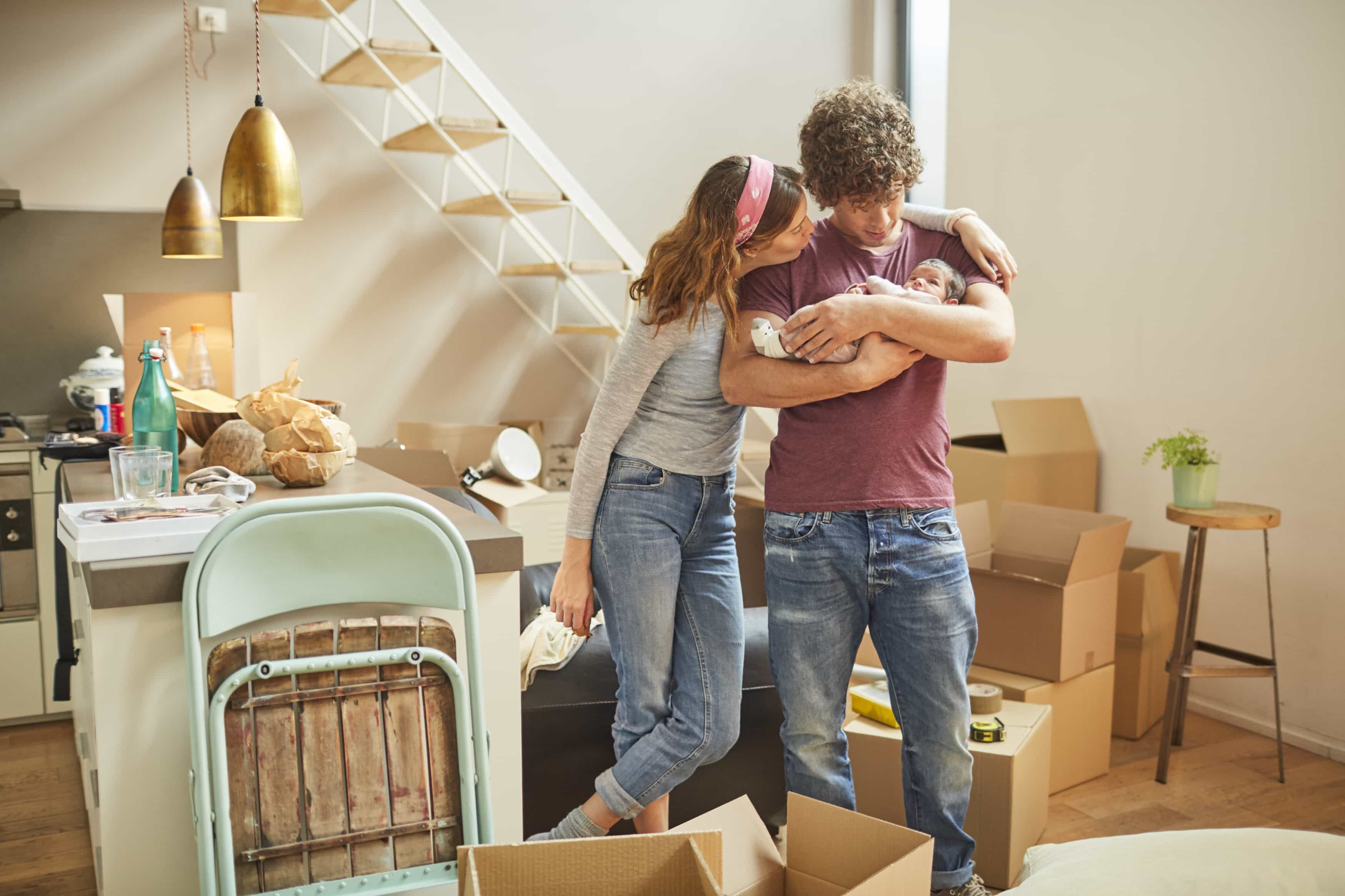 Renting family forced to move out by rent increases