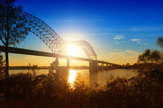Plan to bridge your retirement gap by spending your golden years near the Mississippi River