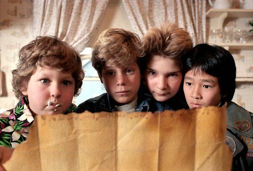 Goonies, treasure map