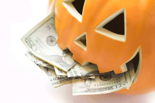 Use these money saving tips to have a fun and frugal Halloween