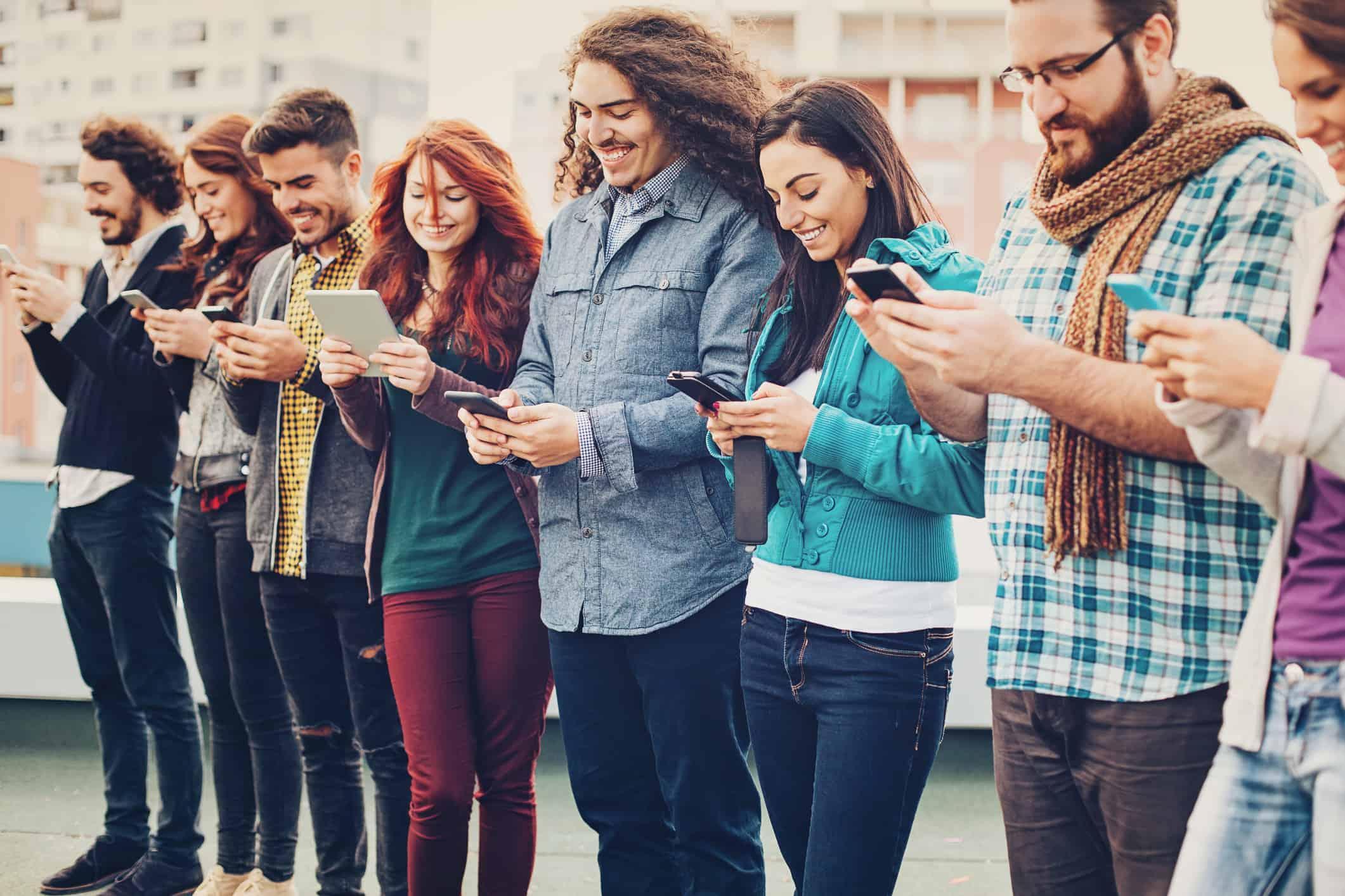 Millennials shop online for the holidays