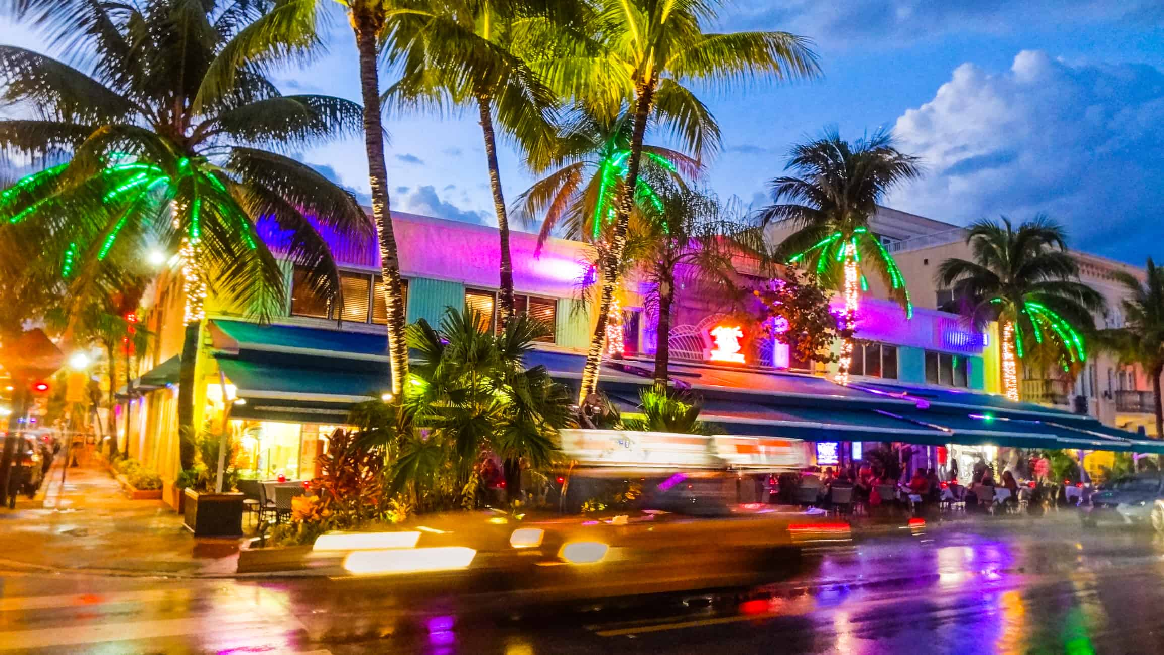Miami Beach night life