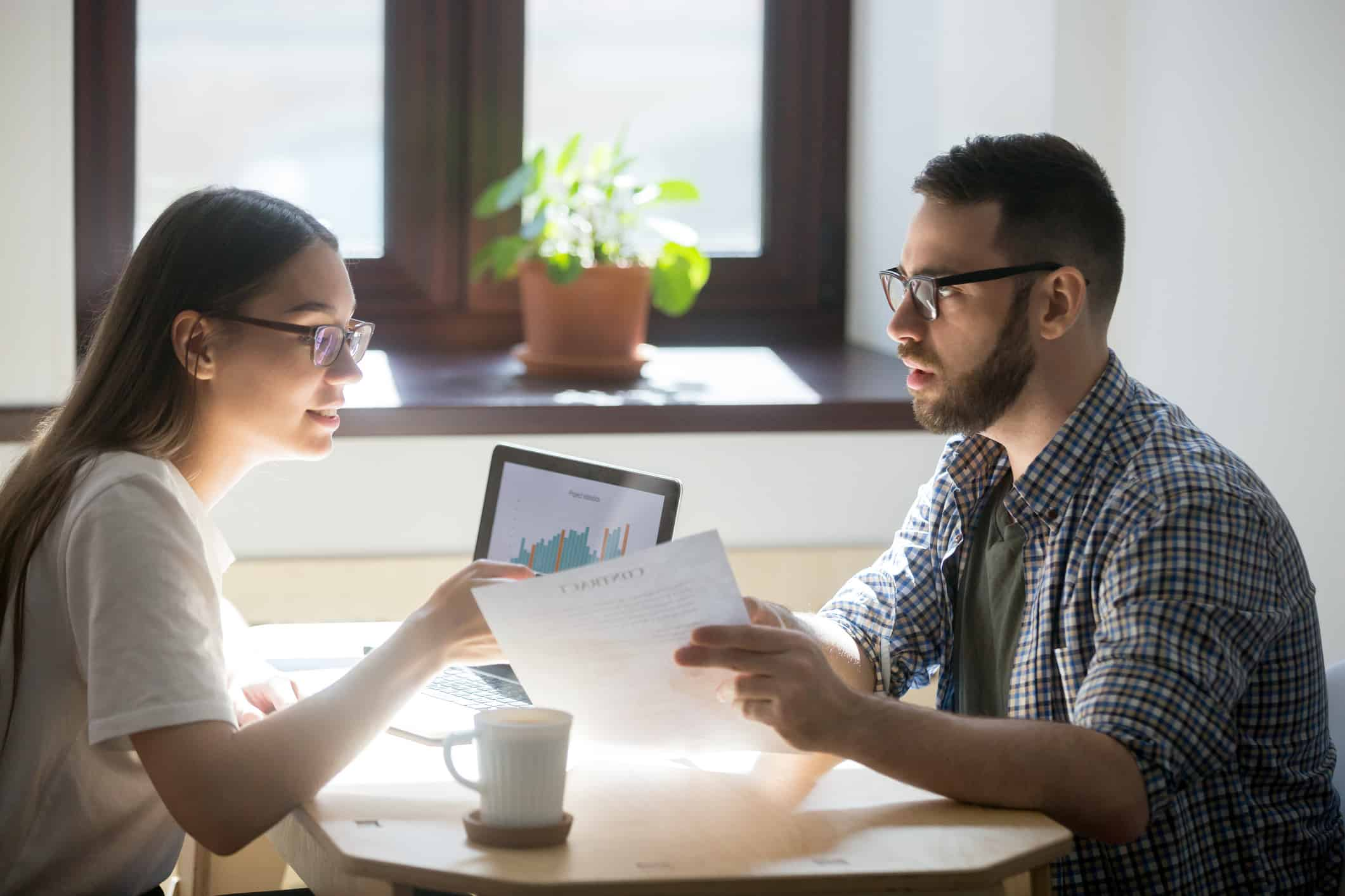 Millennial anxious about buying a home discusses financing
