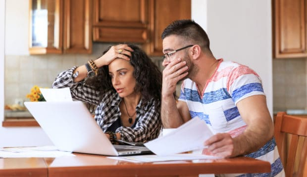 Woman worries, if my husband owes back taxes do they come after me?