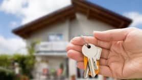 Keys to a new house