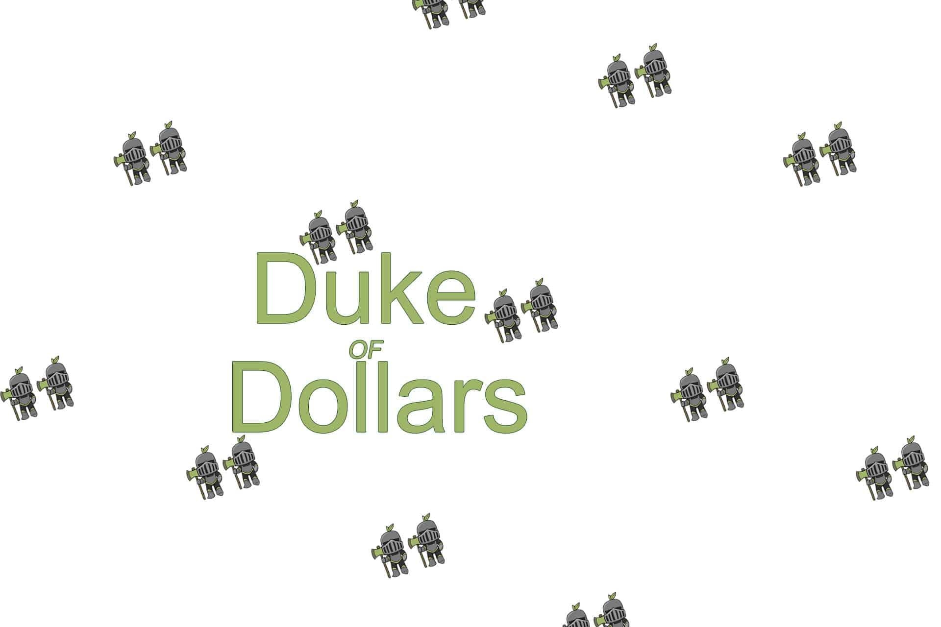 The Duke of Dollars logo