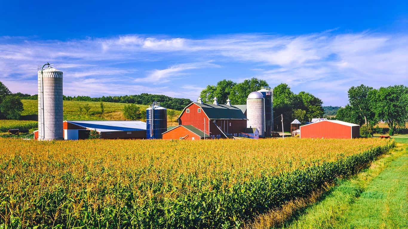 Farm in Iowa