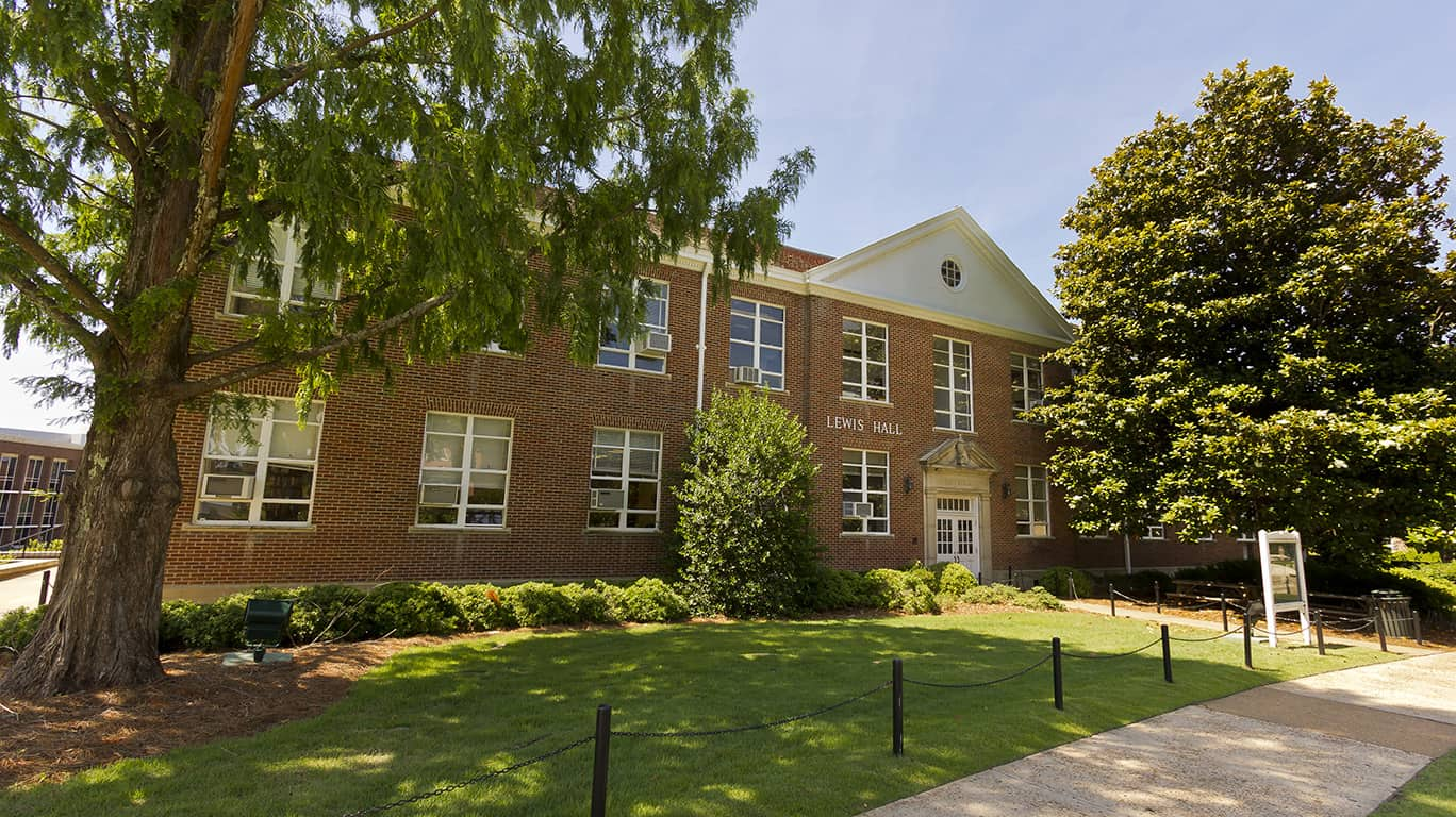 Lewis Hall at Ole Miss