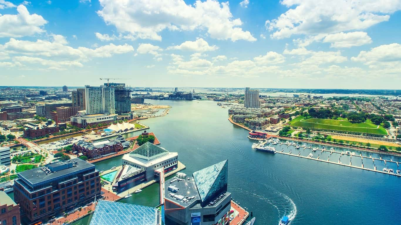 Baltimore, Maryland Harbor