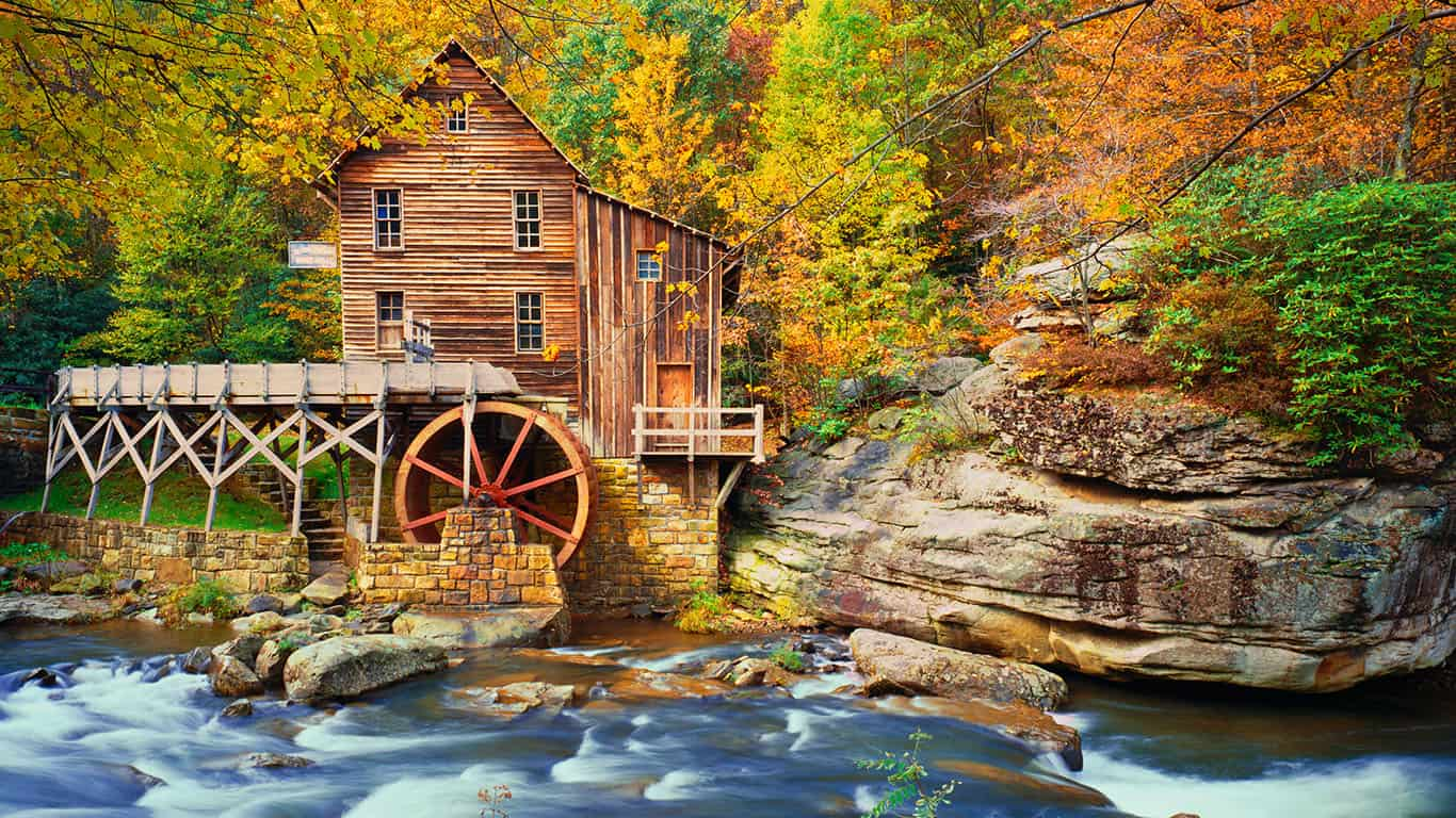 Old Grist Mill, West Virginia
