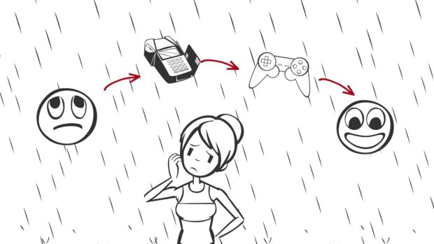 Kelsey Bell considers how depression leads to debt (illustrated)