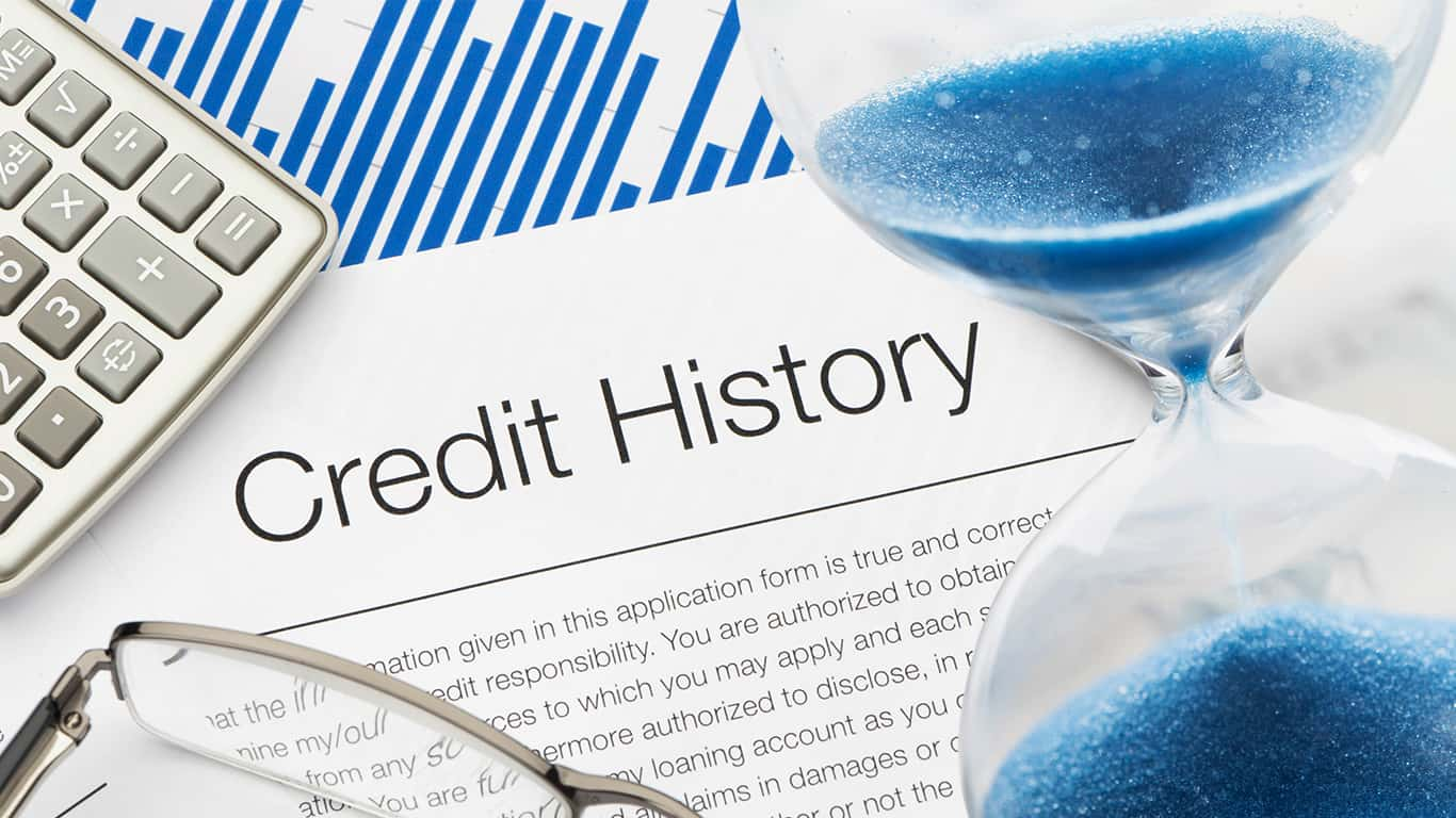 build a credit history from scratch