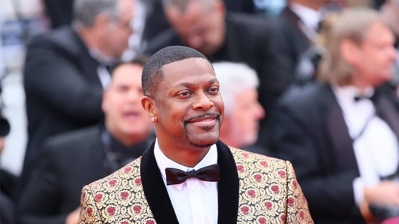 Chris Tucker attends the 'Blacklansman' during the 71st annual Cannes Film Festival at Palais des Festivals