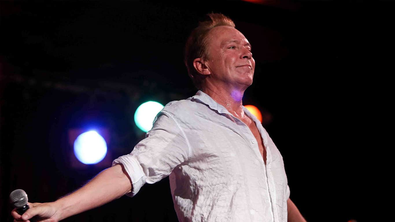 David Cassidy performs in concert at B.B. King's