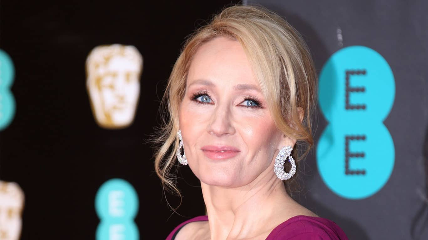J.K. Rowling attends The EE British Academy Film Awards (BAFTA) at the Royal Albert Hall