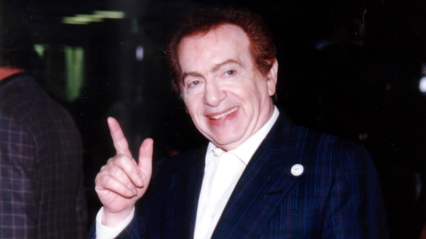Jackie Mason Taken at Gulfstream Park, Hallandale, FL