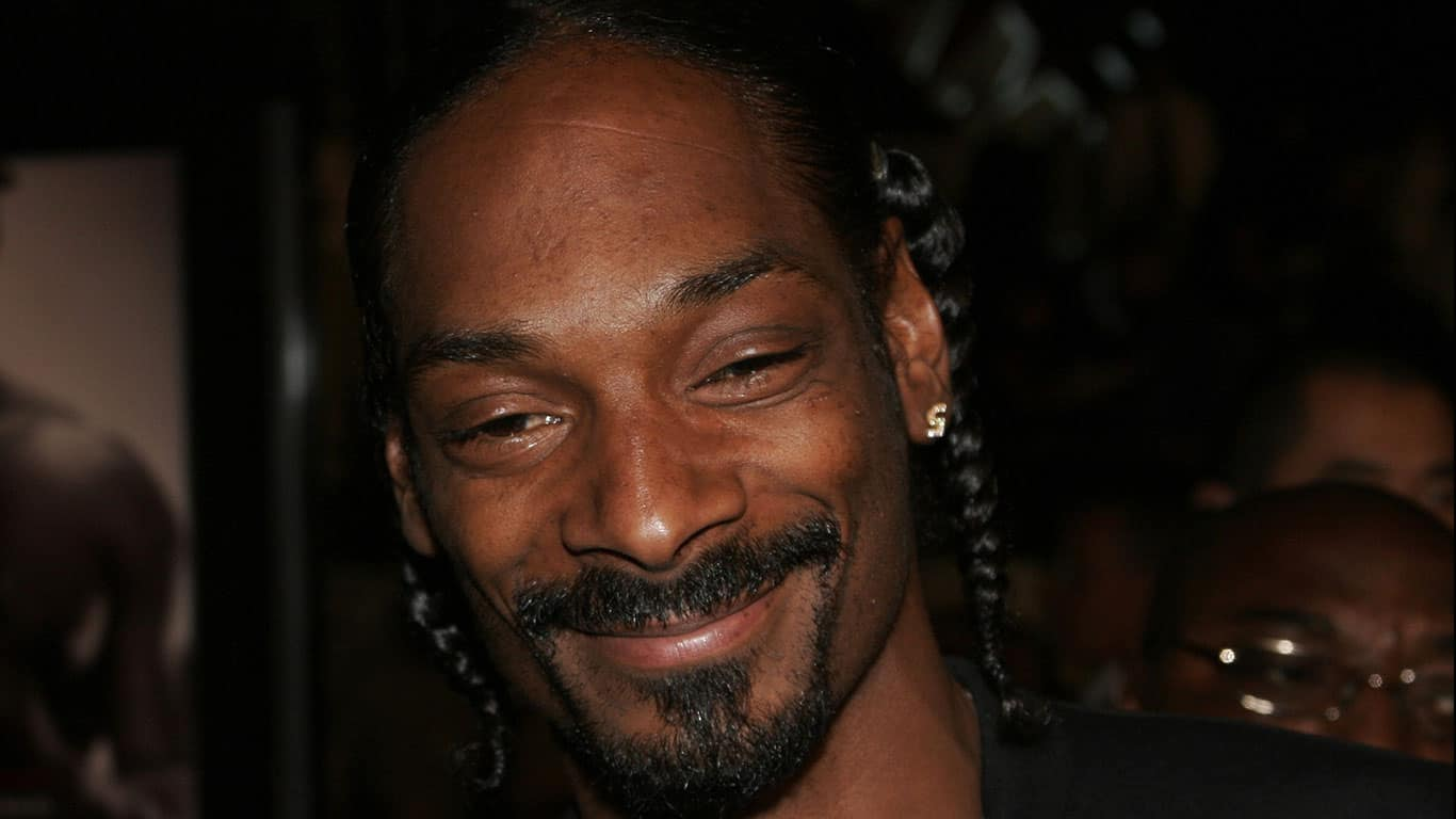 Snoop Dogg at the Paramount Pictures'