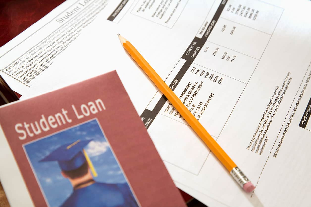 Parents pay for student loans: student loan paperwork