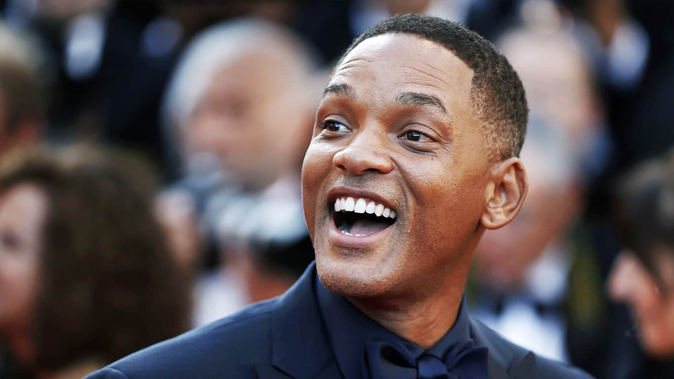 Will Smith attends the 70th Anniversary during the 70th annual Cannes Film Festival