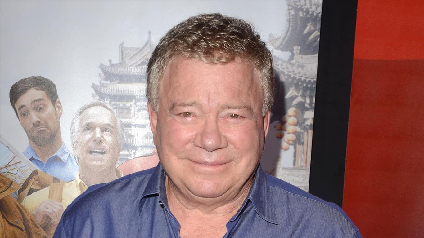William Shatner at the