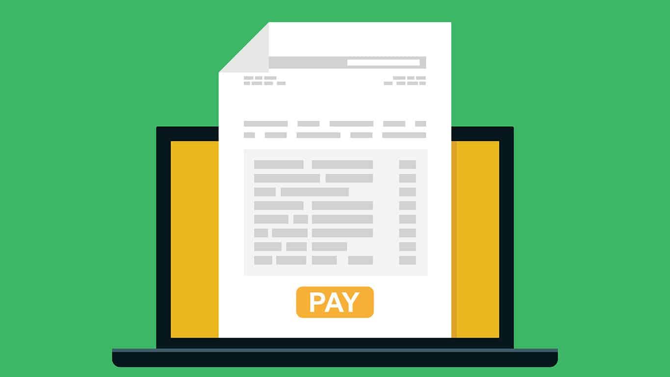 Online billing invoice