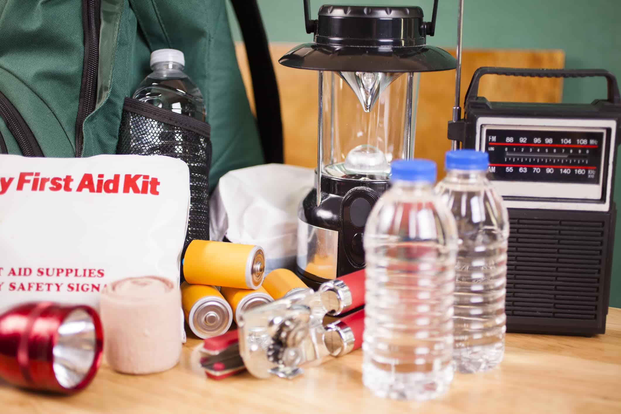 natural disaster preparedness gear financial advice