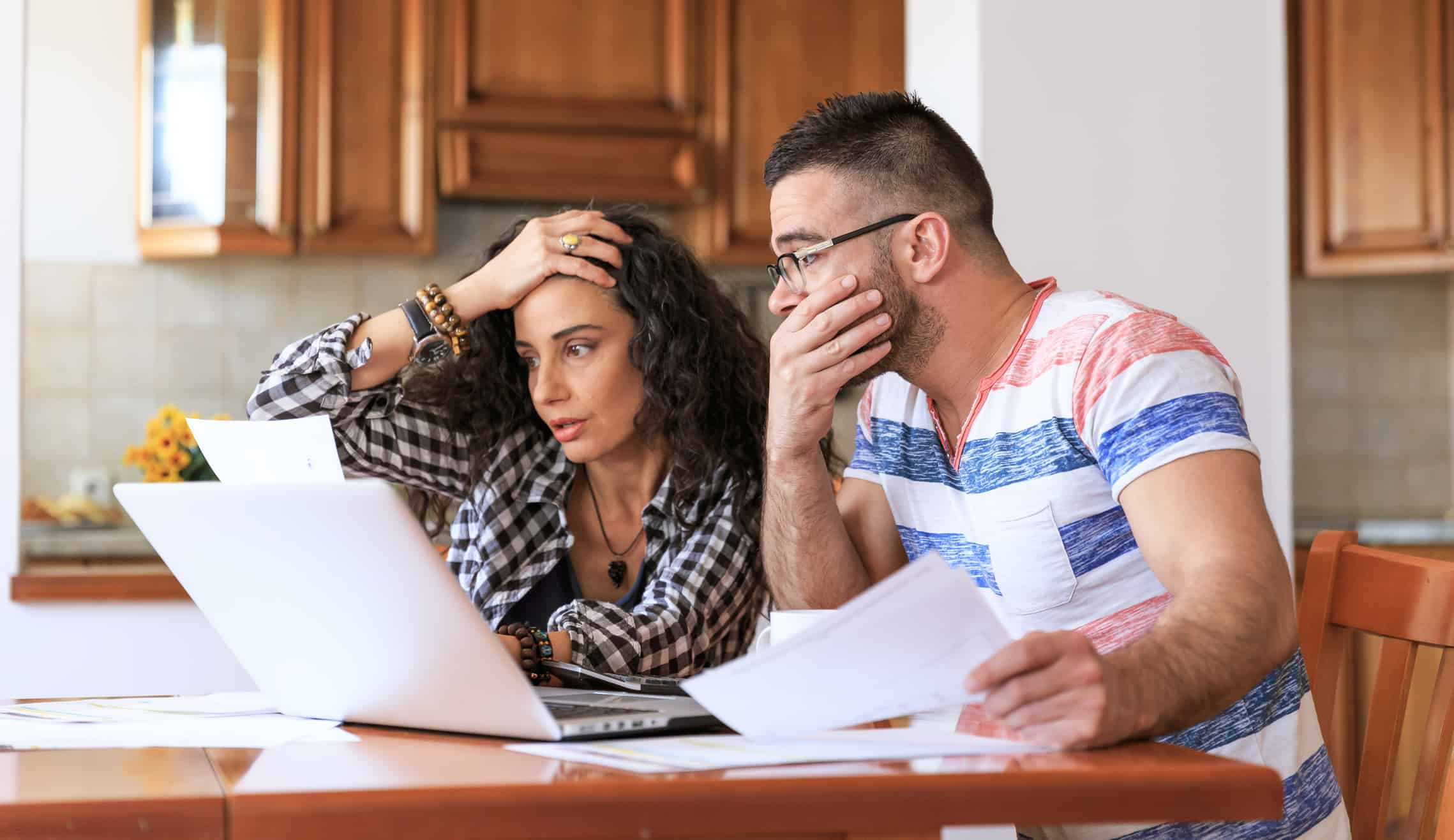 financially struggling families