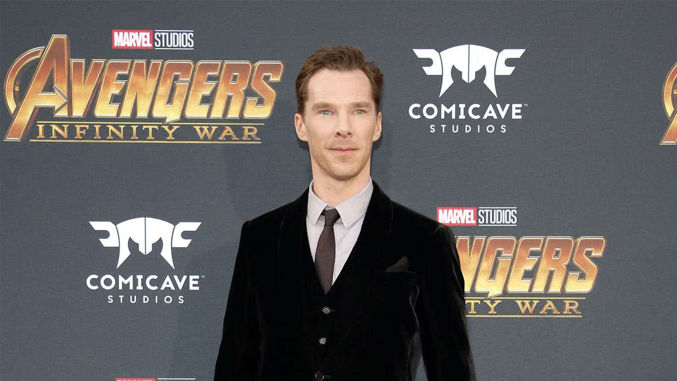 enedict Cumberbatch at the premiere of Disney and Marvel's 'Avengers: Infinity War' held at the El Capitan Theatre