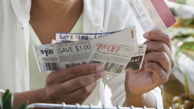 Shopping with coupons