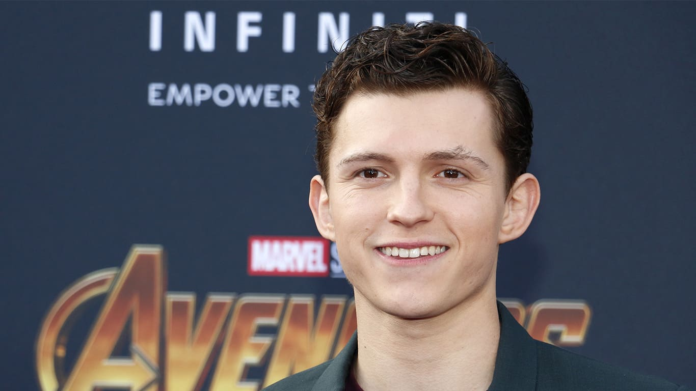 om Holland at the premiere of Disney and Marvel's 'Avengers: Infinity War' held at the El Capitan Theatre