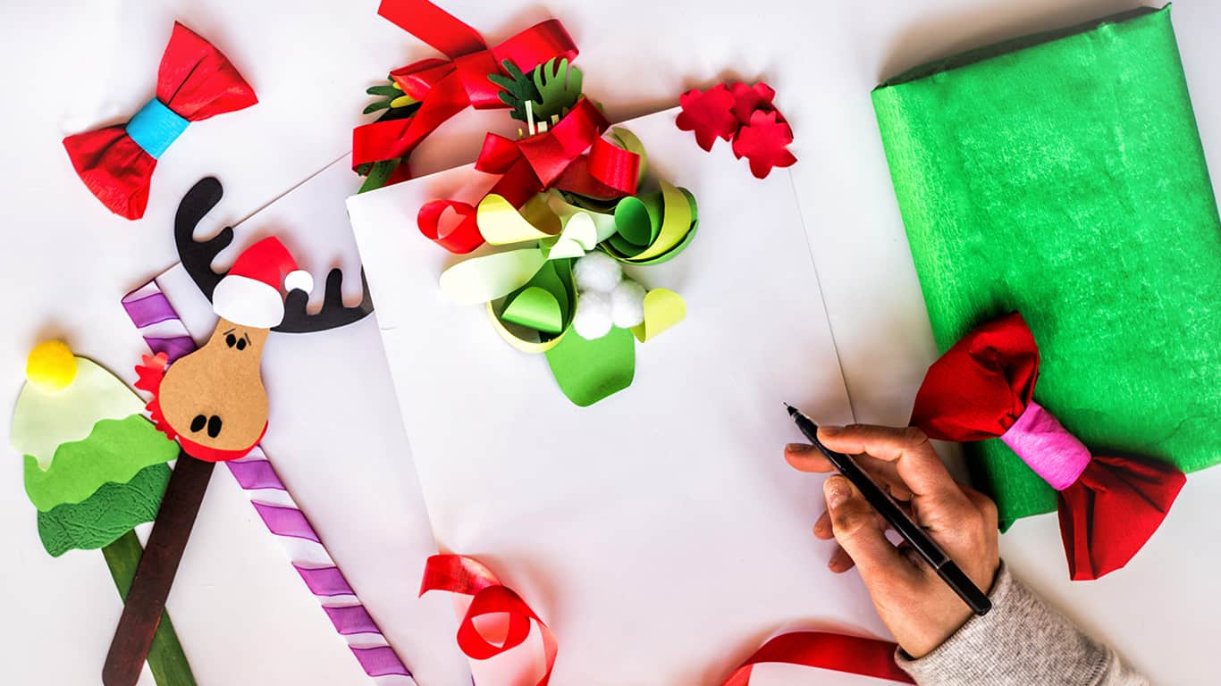 Christmas Style Letter Craft