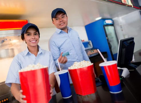Concession work is one of many football stadium jobs where you can make extra holiday cash.