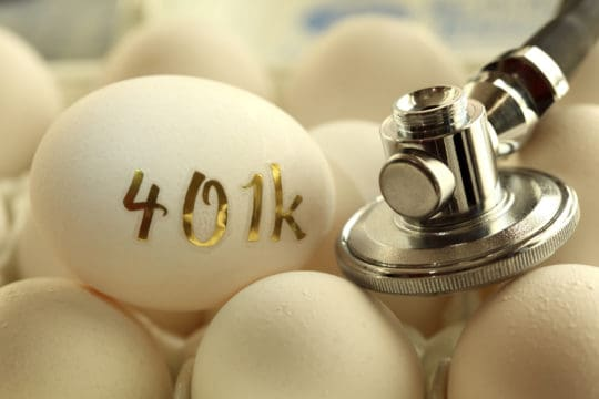 Assessing the health of your 401K nest egg