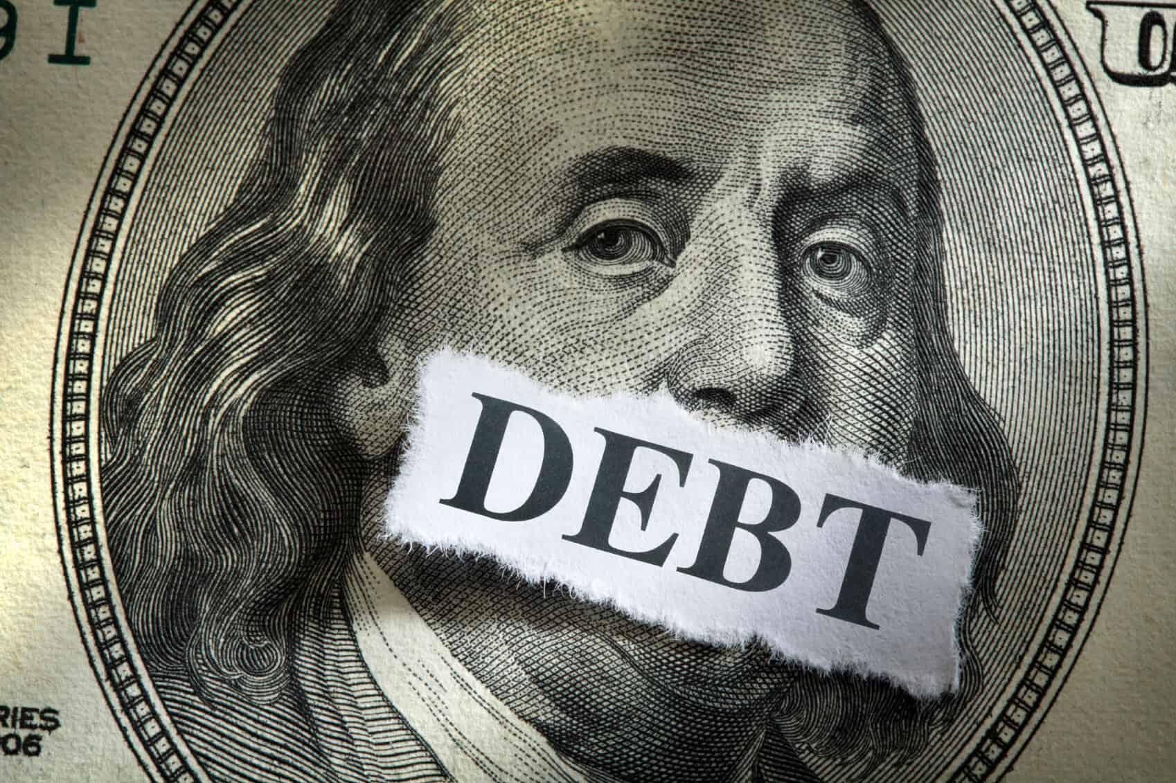 Money can't speak on debt