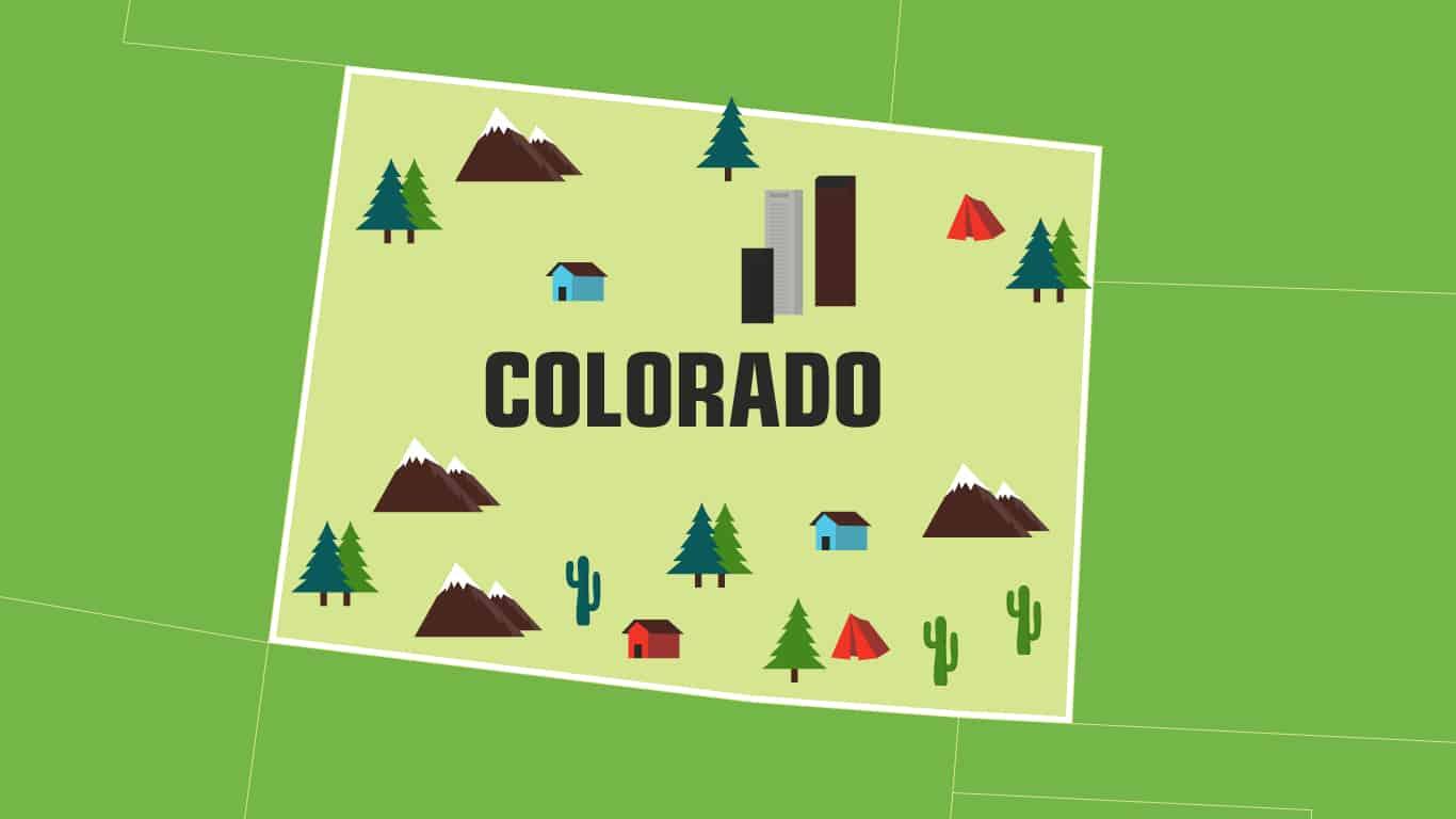 Illustration of Colorado.