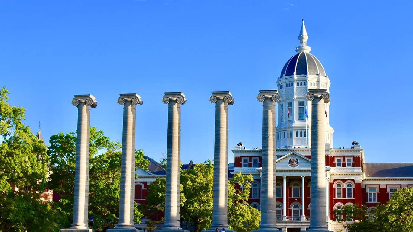 Columbia Columns and campus