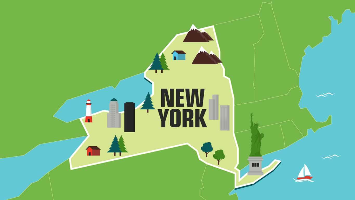 Illustration of New York.