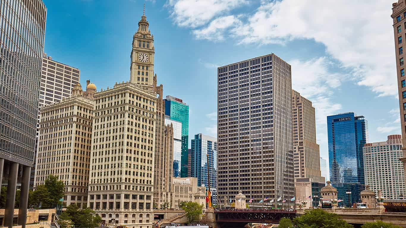 DuSable bridge, Chicago