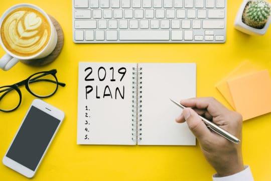 Metas Financieras para el Año Nuevo 2019