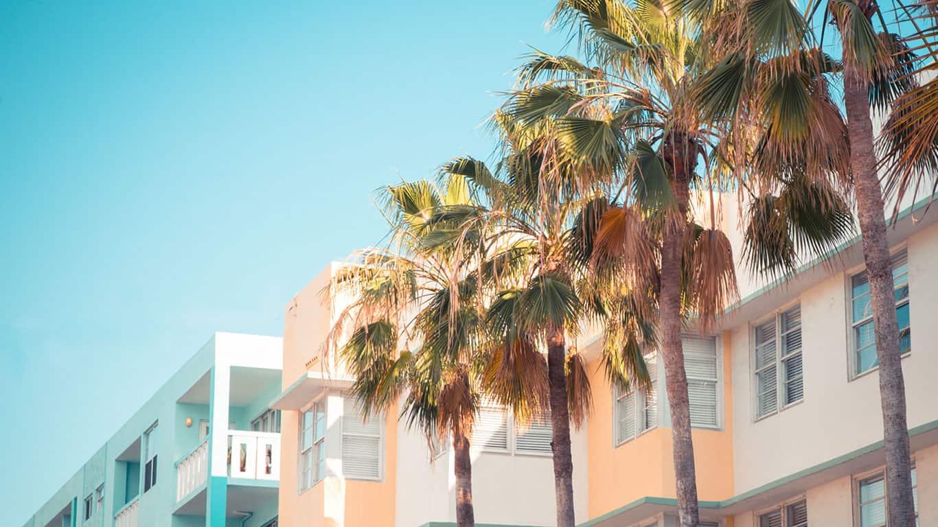 Art Deco South Beach Miami Florida