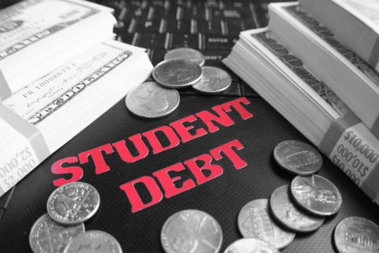 Student Debt Black & White
