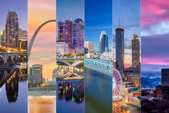 Most Least Popular Cities Millennial Homebuyers