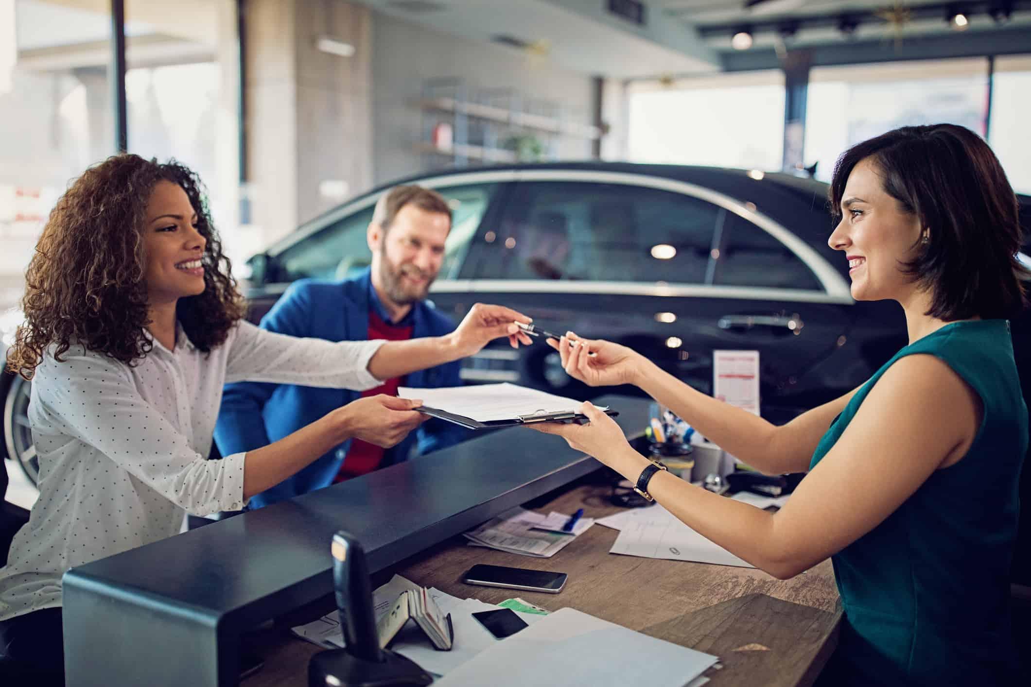 leasing car credit score