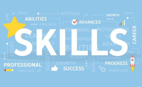 Skills concept illustration
