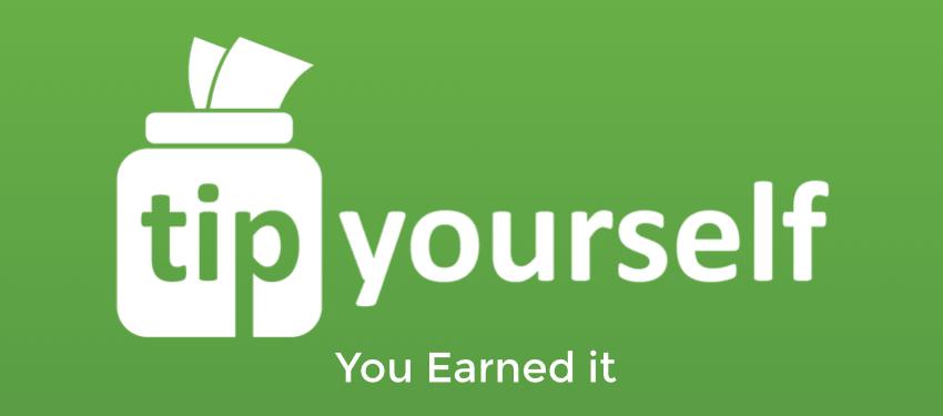 tip yourself: you earned it logo